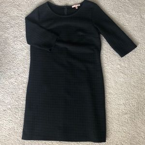 Gibson Latimer Black Dress ¾ Sleeve